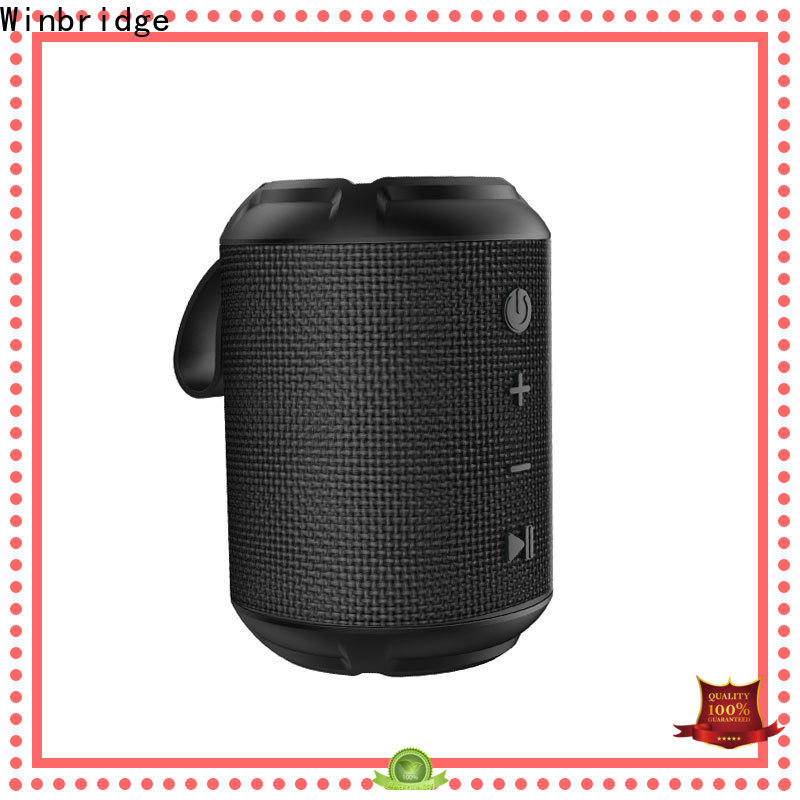 Winbridge bluetooth home speakers factory for outdoor hiking