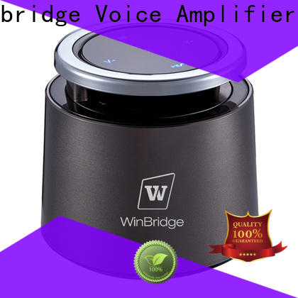 Winbridge high quality bluetooth home speakers manufacturer for riding