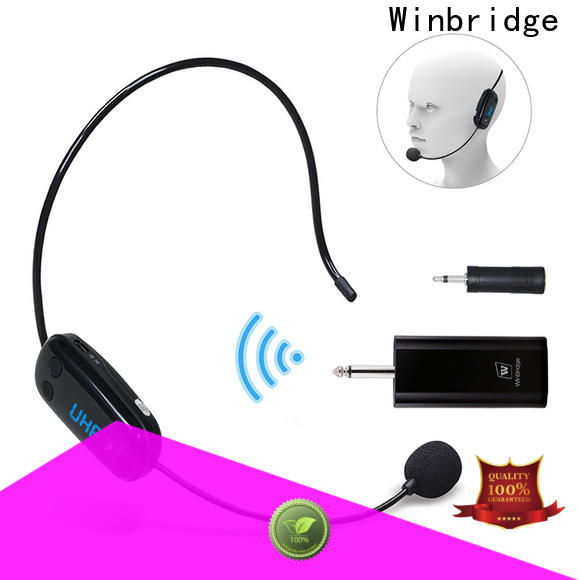 Winbridge wireless karaoke microphone company for karaoke