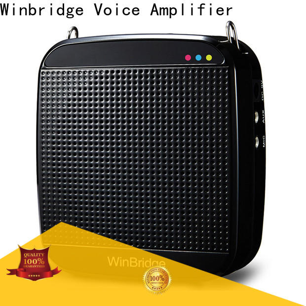 Winbridge best portable voice amplifier for teachers with wireless microphone wholesale