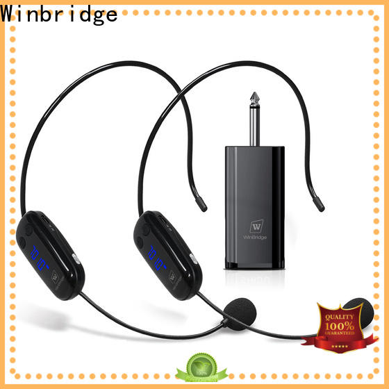 Winbridge wireless lapel microphone supply for sale