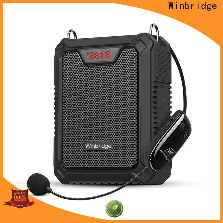 watts rechargeable voice amplifier for busniess for speech