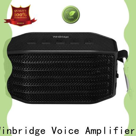 Winbridge latest best mini bluetooth speaker for busniess for riding
