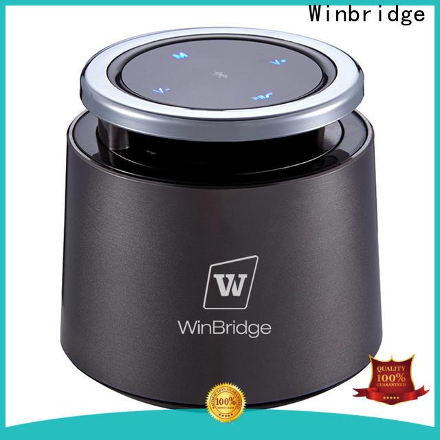 Winbridge waterproof bluetooth home speakers manufacturer for riding