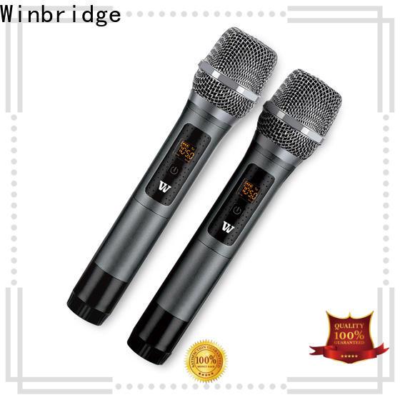 Winbridge best wireless microphone supply for sale