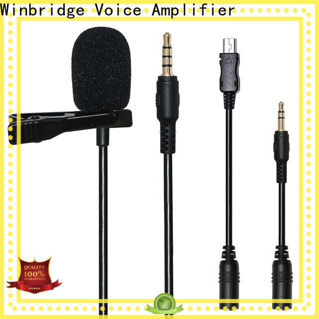 Winbridge microphone best wireless microphone supplier for sale