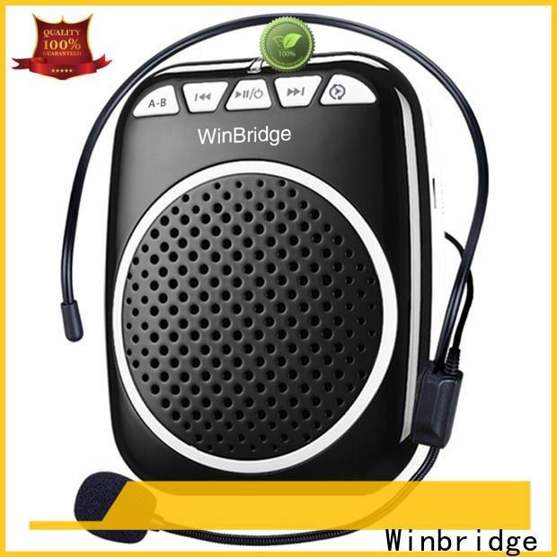 Winbridge wireless voice amplifier for teachers factory for teacher