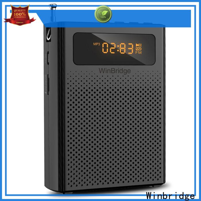 Winbridge winbridge voice amplifier factory for sale