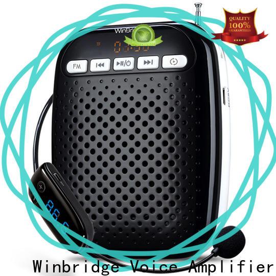 Winbridge voice amplifier for teachers manufacturer wholesale