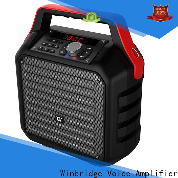 Winbridge best portable pa speakers supply for speech