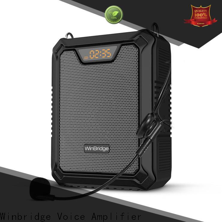 Winbridge top best portable voice amplifier for teachers manufacturer for sale