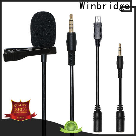Winbridge wireless microphone system with receiver microphone system for sale