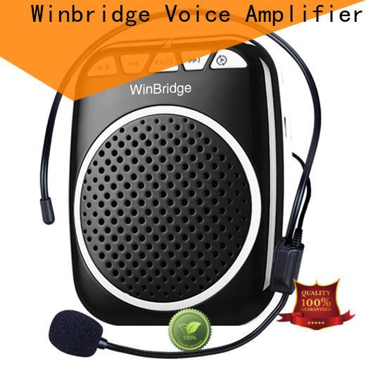 Winbridge watt rechargeable voice amplifier supplier wholesale