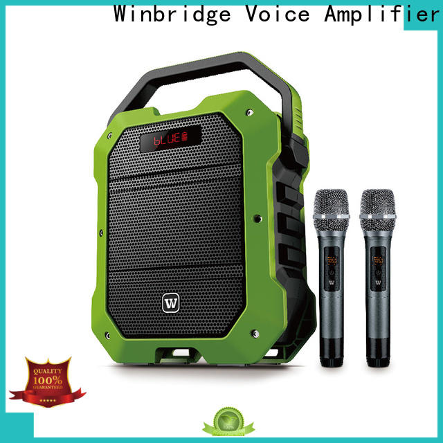 Winbridge custom best portable pa speakers suppliers for teacher