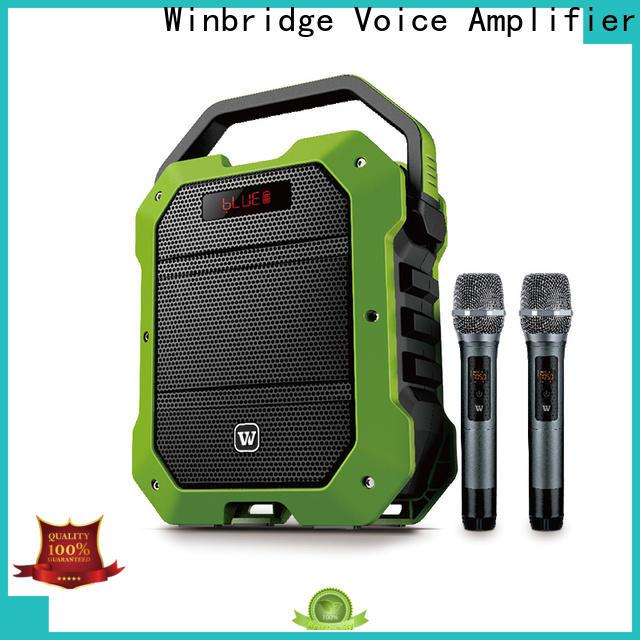 Winbridge custom best portable pa speakers suppliers for teacher