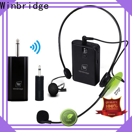 Winbridge wireless microphone system manufacturer for sale