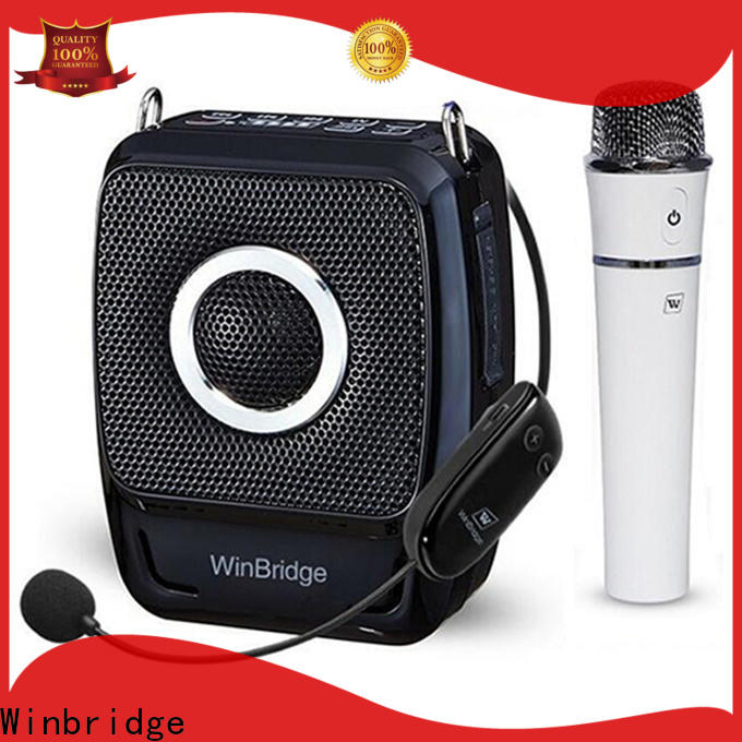 Winbridge portable voice amplifier company for teacher