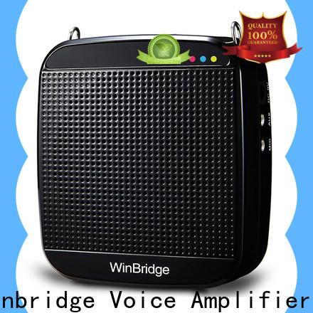 Winbridge rechargeable best voice amplifier supplier for speech