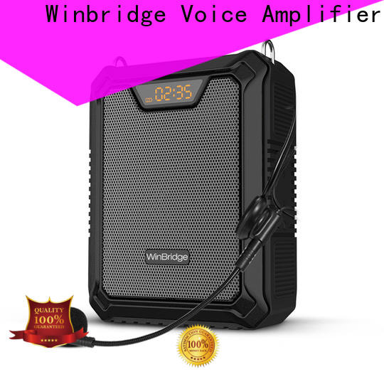 Winbridge watt personal voice amplifier with headset for speech