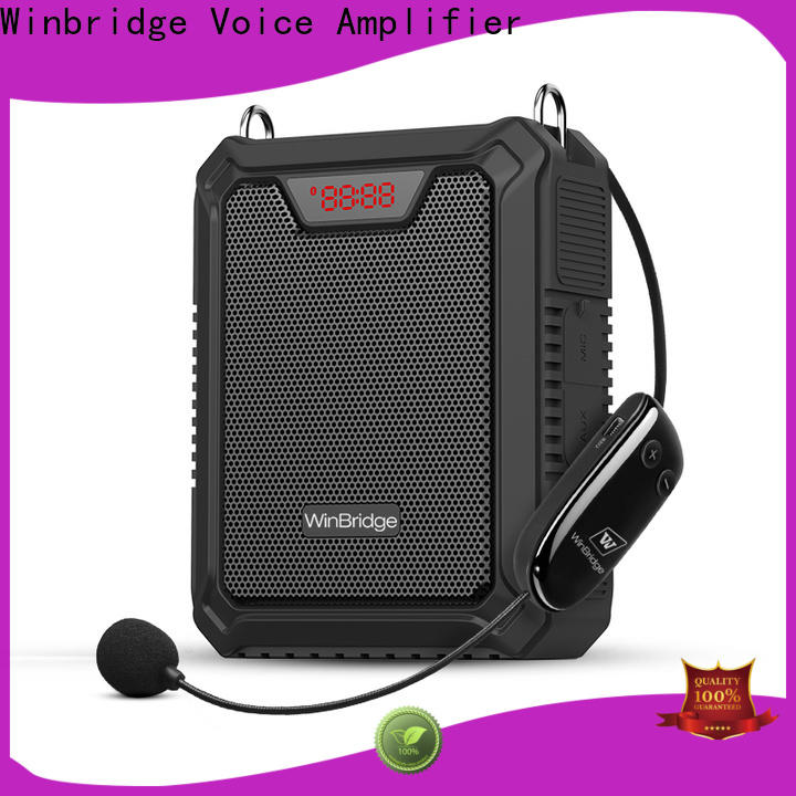 Winbridge personal voice amplifier for busniess for teacher