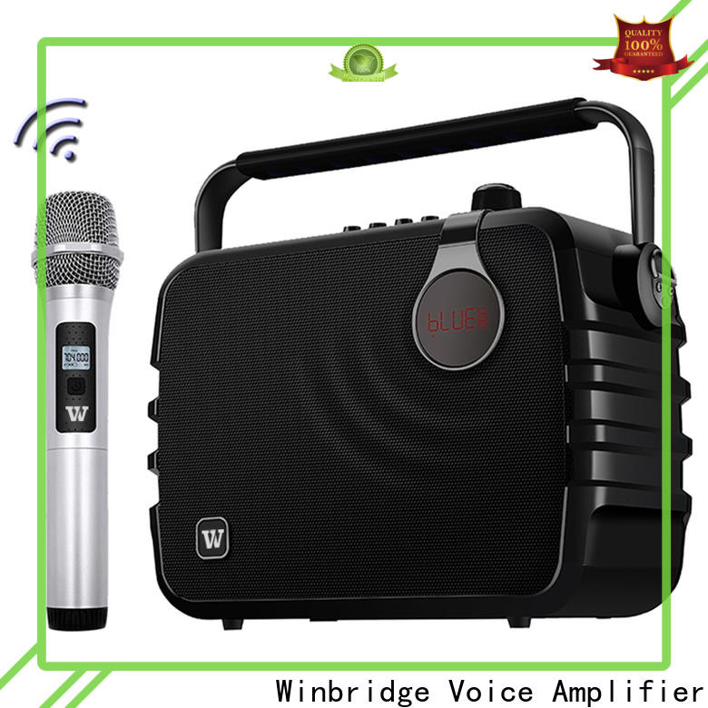 Winbridge latest best portable pa speakers factory for teacher