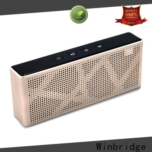 Winbridge best bluetooth speaker supplier for party