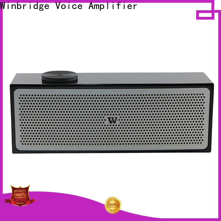 Winbridge small bluetooth speakers manufacturer for outdoor hiking