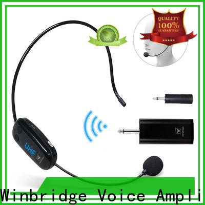 Winbridge wireless karaoke microphone supply for speech