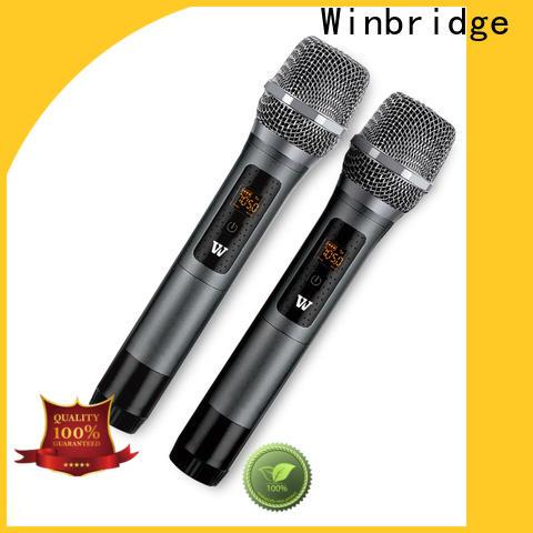 Winbridge best wireless microphone supplier for karaoke