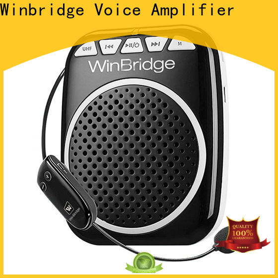 Winbridge voice amplification devices manufacturer for speech