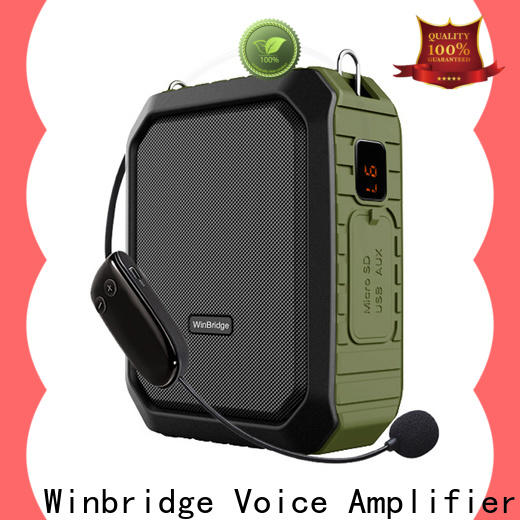 Winbridge best portable voice amplifier for teachers for busniess for speech