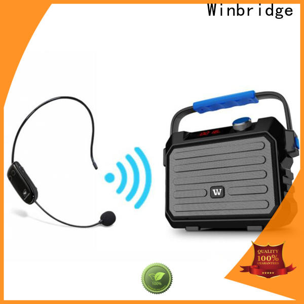 Winbridge high-quality best portable pa speakers manufacturers for sale