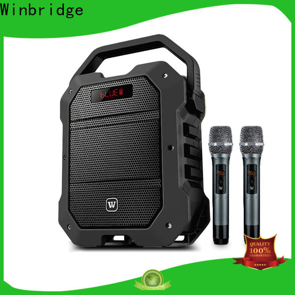Winbridge bluetooth pa speakers manufacturers for teacher