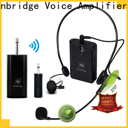 Winbridge wireless lapel microphone factory for sale