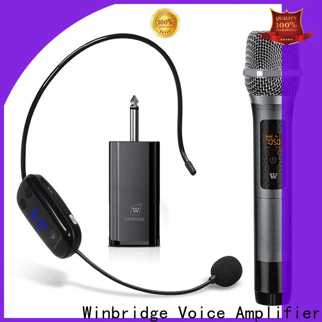 handheld wireless microphone system manufacturer for speech