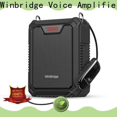 Winbridge top voice amplifier for teachers factory for speech