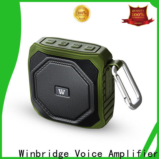 portable bluetooth speaker box with touch panel for cafe