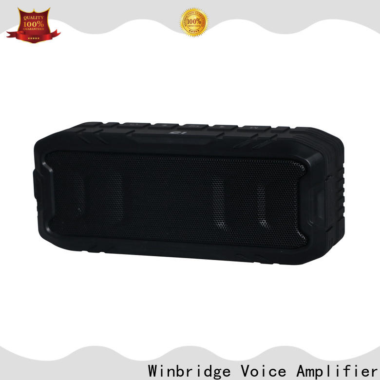 Winbridge waterproof bluetooth home speakers supply for cafe