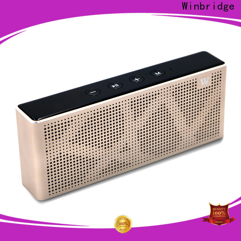 Winbridge outdoor best portable bluetooth speaker supply for party
