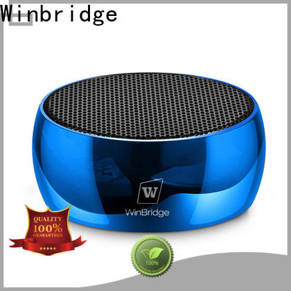 Winbridge best best wireless bluetooth speakers factory for cafe
