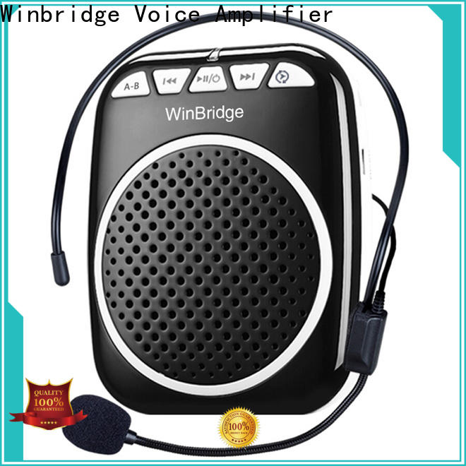 Winbridge personal voice amplifier company for speech