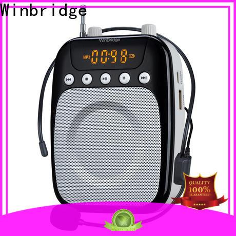Winbridge wired best voice amplifier company for teacher