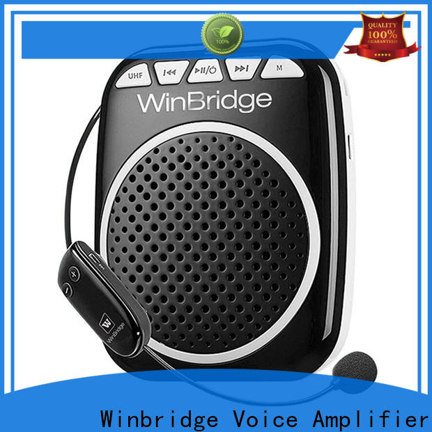 Winbridge rechargeable voice amplifier supplier for speech