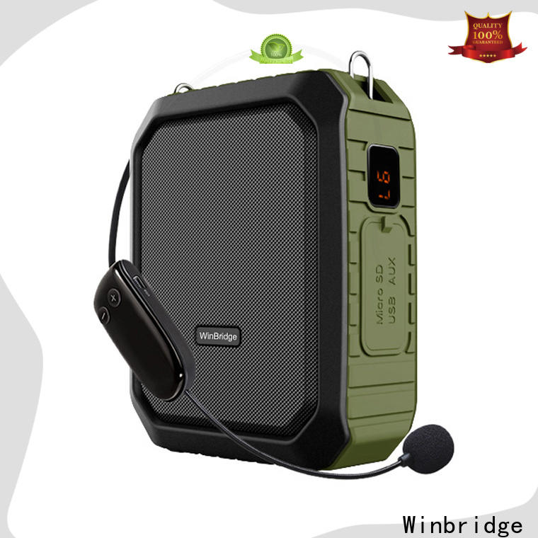 latest portable voice amplifier with waistband for speech