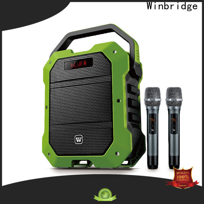 Winbridge best portable pa speakers supply for sale