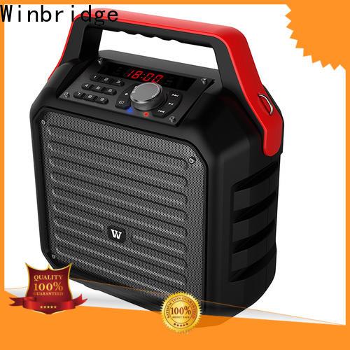 Winbridge wholesale bluetooth pa speakers company for teacher