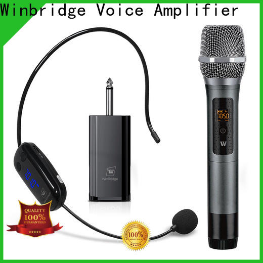headset wireless lapel microphone company for speech